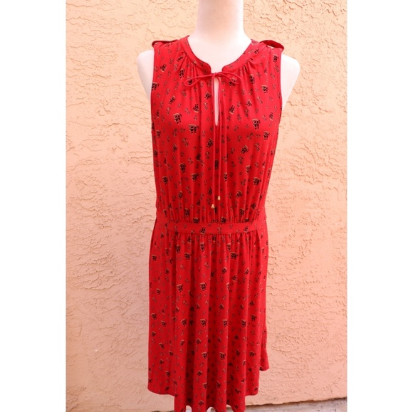 Anthropologie Dresses & Skirts - Anthropologie Leifnotes | red ship + anchor dress